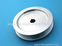 Aluminium mechanical pulley parts