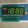 Custom Design ultra green and ultra red 7segment led clock display common anode for washing machine