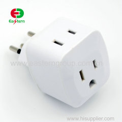 wall-mount adaptor US to Brazil INMETRO standard ac/dc power adapter