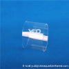 High temperature resistant furnace tube clear quartz glass muffle furnace tube