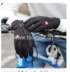 Waterproof Outdoor sports touch screen cycling gloves long finger