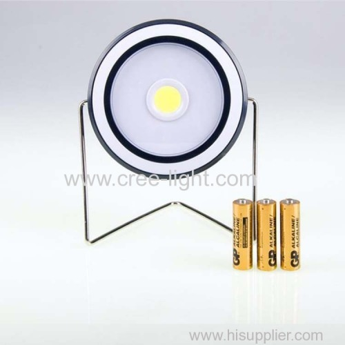 Portable multi-function barbecue light COB led camping tent light