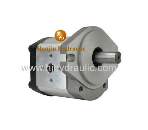 Hydraulic gear pump for the power station