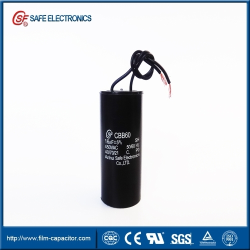 ac motor capacitor of washing machine