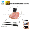 Small mini Wifi wireless micro camera module 940nm ir night vision