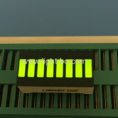 Super bright green 8 segment led light bar for temperature humidity indicator