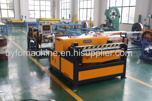 Nanjing BYFO Hvac duct pipe making machine for air duct