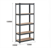 steel slotted angle shelving