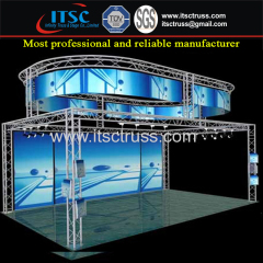 Offer 10x10ft Portable Spigot Exhibition & Display Truss Rigging with Round Truss on Top