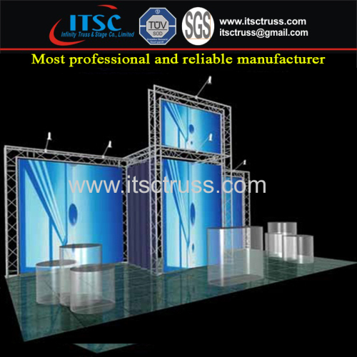 Complecated Trio Backdrop Truss Rigging System for Exhibtion and Display Stand