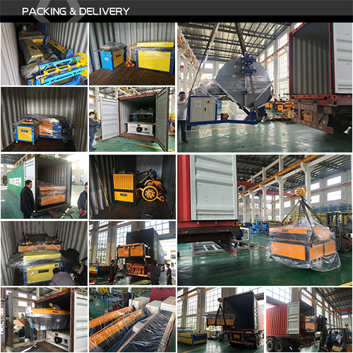 HVAC air duct manufacture auto line 2