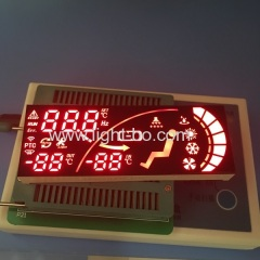 Custom design Super bright red 7 segment led display module for Automobile Instrument Panel