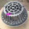 "15 1/4 Inch Large Sump Cast Iron Roof Drain with 4"" No-Hub Outlet for Roof Drainage"