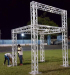10x10ft Simple Trade Show Booth Exhibition Display Square Truss Rigging