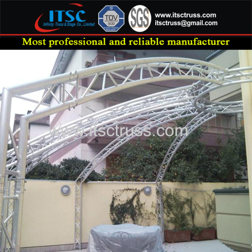 OutdoorVenue Decoration Truss Rigging in Multipurpose truss