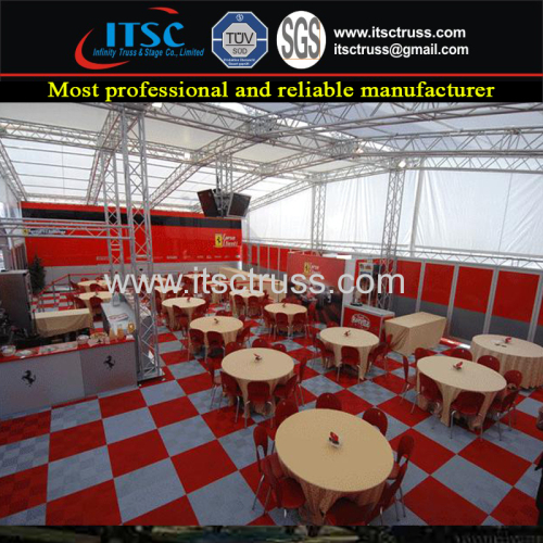 Outdoor Event Aluminum Lighting Truss for Decoration Purpose