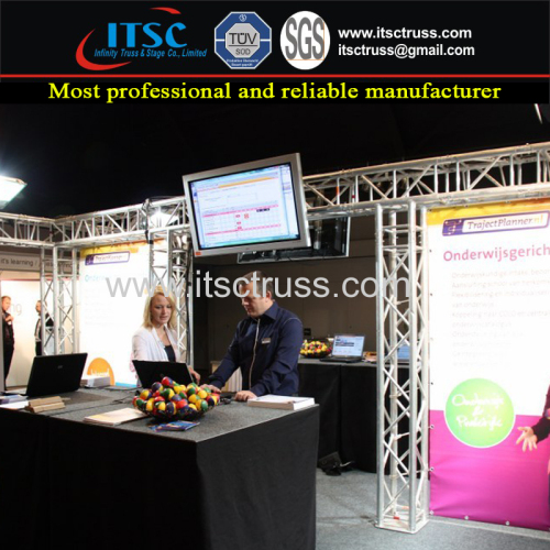 Exhibits Booth Advertising Display Truss Rigging