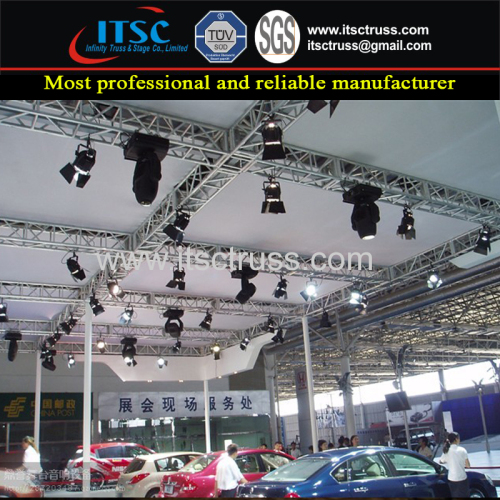 Decorative Multipurpose Advertising Truss Rigging for Car Exhibits Trade Show