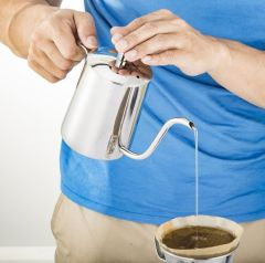 stainless stee Narrow coffee pot