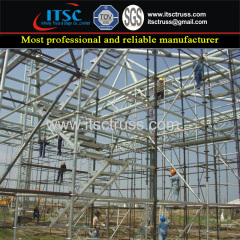 Ring Lock scaffolding Ladder Tower with Safe 800kg/sqm