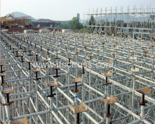 Ringlock Scaffolding Assembling for 3m Mobile Stages Projects