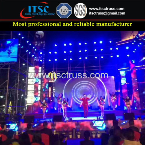 Ring Lock Scaffold Steel Scaffolding Supplies for Staging Lighting Concerts Events