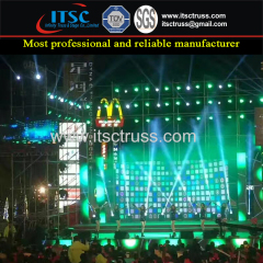20x10m Ringlock Scaffolding Backdrop System for Stage Lighting
