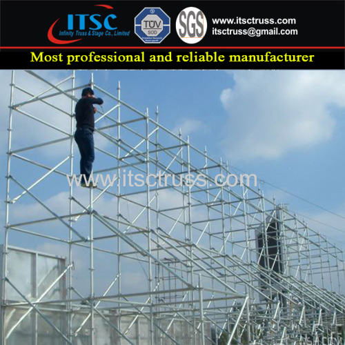 High Quality Quick Assembling Ringlock Scaffolding for Outdoor Concerts
