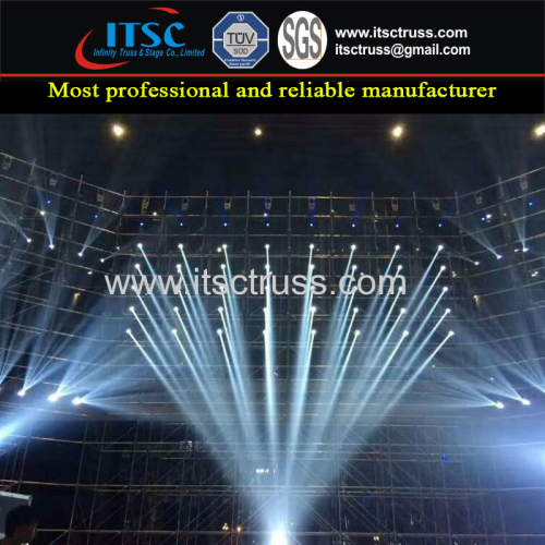 Hardware Construction Steel Material Ringlock Scaffolding for Sale