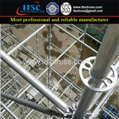 Ringlock Scaffolding Steel Material In Building Construction