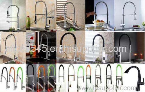 high quality suqare pull out kitchen faucet mixer tap hot and cold water mixer tap