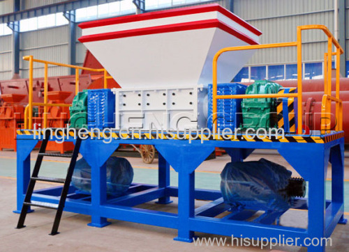LING HENG Plastic bottles shredder waste plastic scrap shredding machine Rubber plastic crushing machine for sale