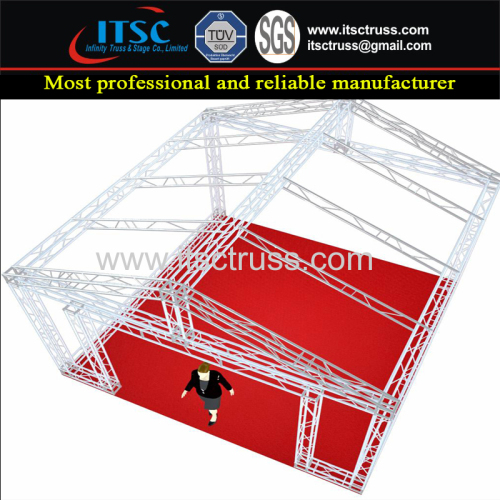 Multiplied Modular Type Pyramid Roofing Trussing System