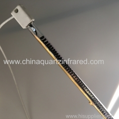 medium wave infrared heating lamp for PVB laminated glass