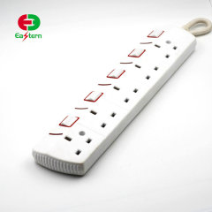 5 way UK Power Strip With Switch
