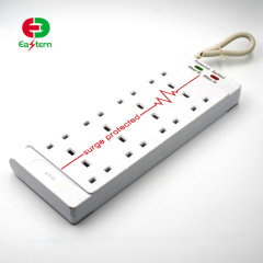 8 Way Portable Multifunctional Power Strip