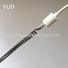 clear type medium wave infrared heating lamp for PVB laminated glass