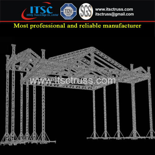 Heavy Duty Aluminum Trussing Pyramid Roofing System
