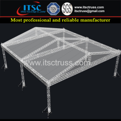 20x18x7m Pyramid Roofing Trussing System with 6 Pillars and Without Soundwing
