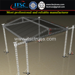 12x12x9M Pyramid Roofing Trussing 6 Towers with Soundwings