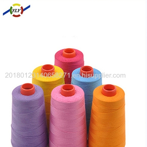 100% spun polyester sewing thread manufacturer in China