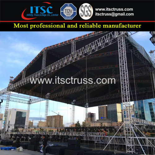 27x18x12M Heavy Duty Pyramid Roofing Trussing Concerts Projects