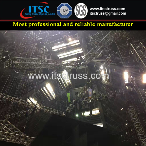Aluminum Flow Trussing Concerts Projects Guangzhou Supplier