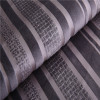 strip style viscosed velboa fabric