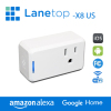 Wireless smart socket Outlet with Timing Function Control Your Devices from Anywhere Via Free APP X8 US