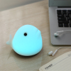 Baby Nursery Lamp Rechargeable Whale Silicone LED Soft Safe Night Lighting Sensitive Tap Control 7 Colors for Kids as Gi