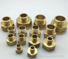 Brass internal and external thread