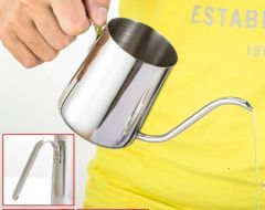 stainless stee Fine mouth coffee pot