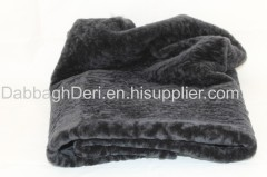 Genuine sheepskin astragan fur