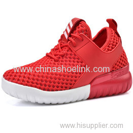 Elevator shoes Red Child Airpump Aqua Sneaker Shoes factory